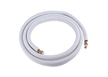 "3/8"" 3/4"" Double Pipe Air Conditioner Use PE Insulated Refrigeration Copper Tubing Coil"